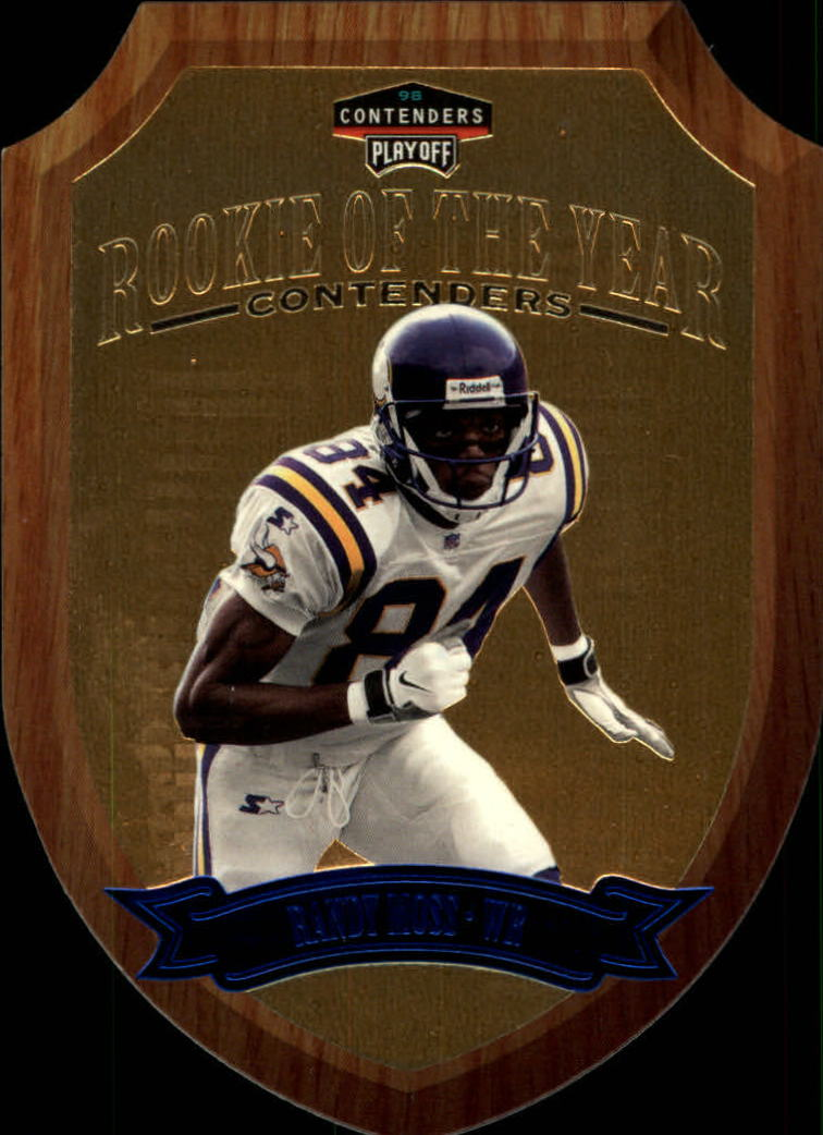 1998 Playoff Contenders Rookie of the Year #7 Randy Moss