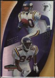 1998 Playoff Contenders Touchdown Tandems #16 C.Carter/R.Moss