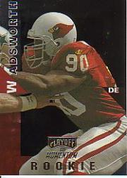 1998 Playoff Momentum Hobby #7 Andre Wadsworth RC