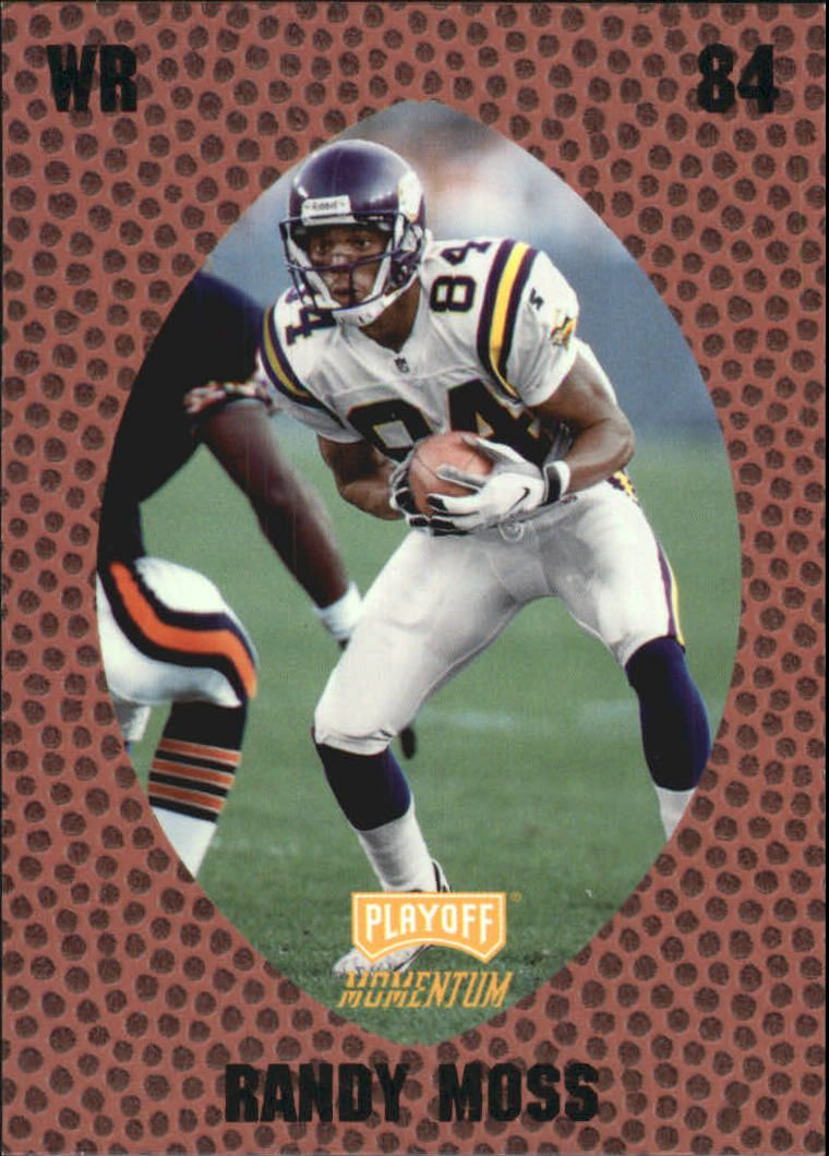 1998 Playoff Momentum Retail #171 Randy Moss RC