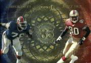 1998 Playoff Momentum Class Reunion Quads #3 Jerry Rice/Bruce Smith/Andre Reed/Doug Flutie