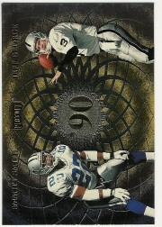 1998 Playoff Momentum Class Reunion Quads #8 Emmitt Smith/Jeff George/Neil O'Donnell/Shannon Sharpe