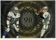 1998 Playoff Momentum Class Reunion Quads Jumbos #8 E.Smith/J.George/N.O'Donnell/S.Sharpe