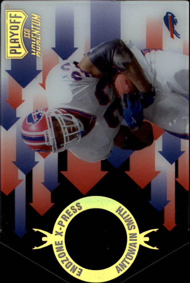 1998 Playoff Momentum Endzone X-press #4 Antowain Smith