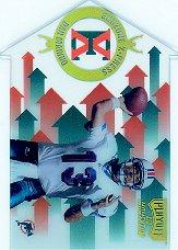 1998 Playoff Momentum Endzone X-press #14 Dan Marino