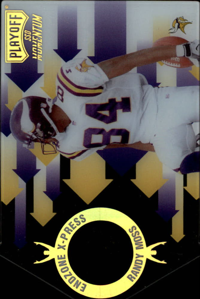 1998 Playoff Momentum Endzone X-press #15 Randy Moss