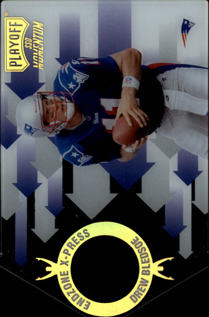 1998 Playoff Momentum Endzone X-press #16 Drew Bledsoe