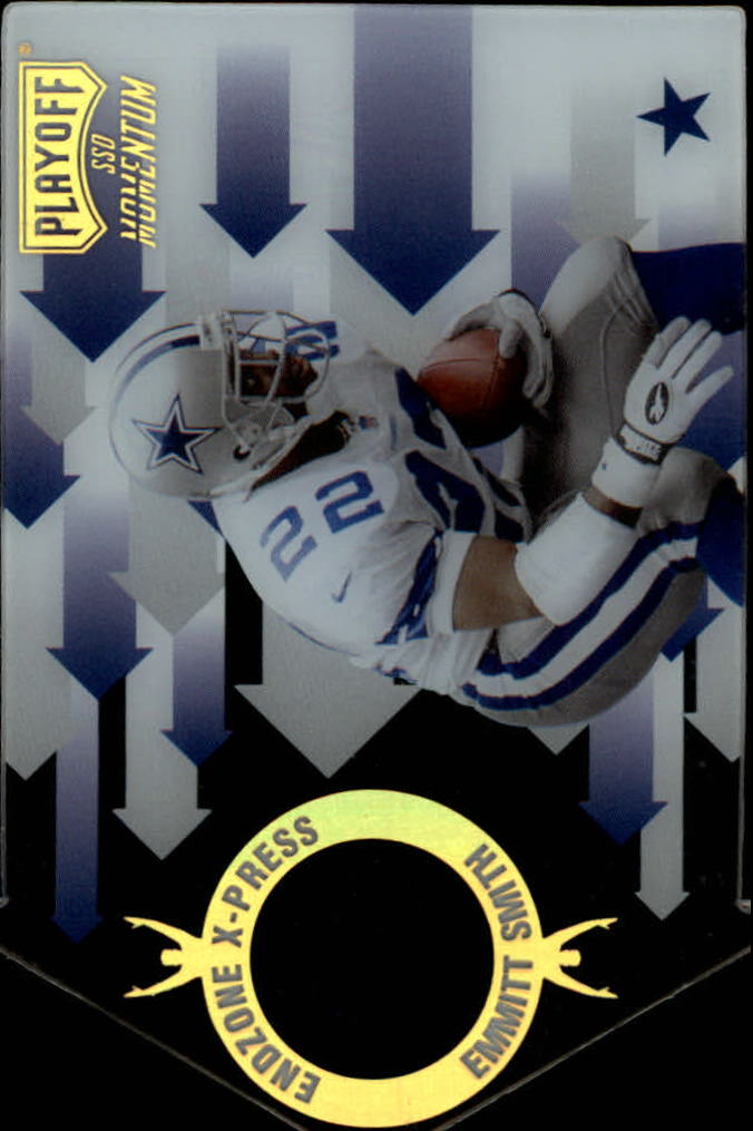 1998 Playoff Momentum Endzone X-press #21 Emmitt Smith