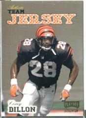 1998 Playoff Momentum Team Jerseys Home #R26 Corey Dillon