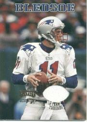1998 Playoff Momentum Team Threads Away #11 Drew Bledsoe