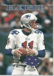 1998 Playoff Momentum Team Threads Home #11 Drew Bledsoe
