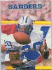1998 Playoff Momentum Team Threads Home #20 Barry Sanders