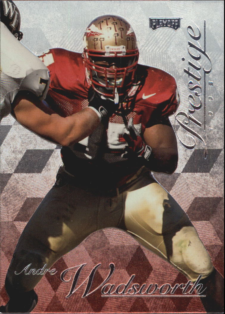 1998 Playoff Prestige Hobby #167 Andre Wadsworth RC