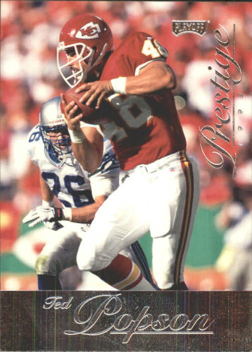 1998 Playoff Prestige Retail #38 Ted Popson