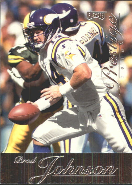 1998 Playoff Prestige Retail #43 Brad Johnson