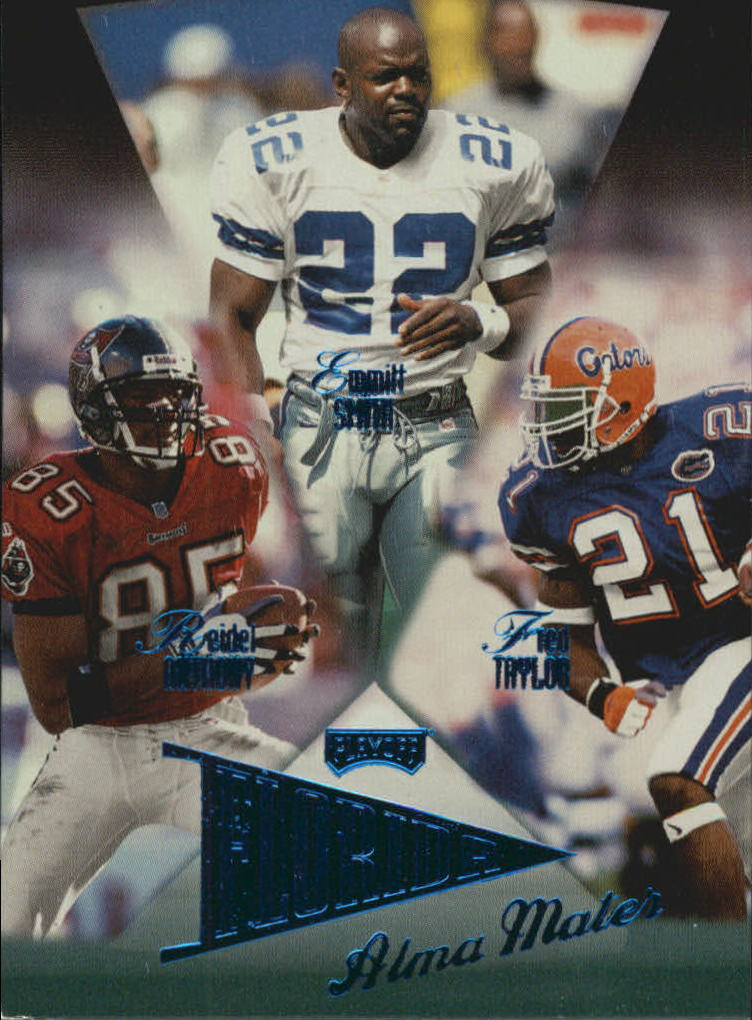 1998 Playoff Prestige Alma Maters Blue #5 Emmitt Smith/Fred Taylor/Reidel Anthony