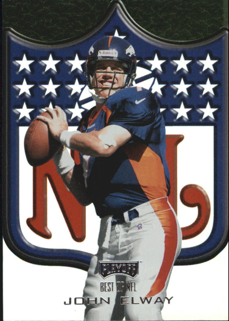 1998 Playoff Prestige Best of the NFL Non-Die Cut #6 John Elway