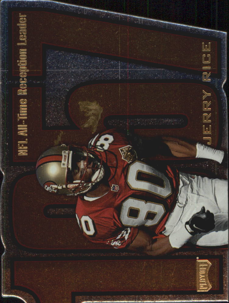 1998 Playoff Prestige Inside the Numbers #3 Jerry Rice