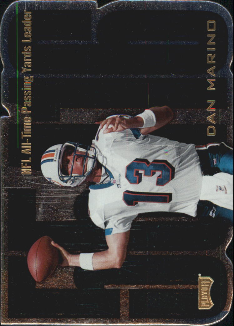 1998 Playoff Prestige Inside the Numbers #5 Dan Marino