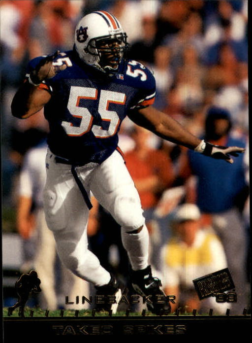 1998 Press Pass #11 Takeo Spikes