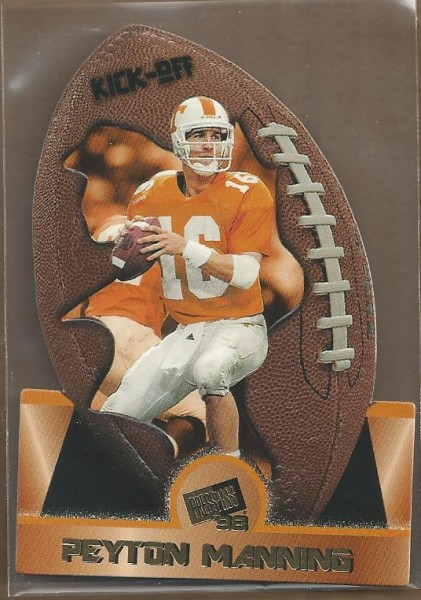 1998 Press Pass Kick-Off #KO1 Peyton Manning