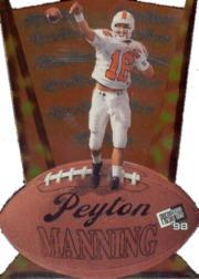 1998 Press Pass Triple Threat #TT2 Peyton Manning