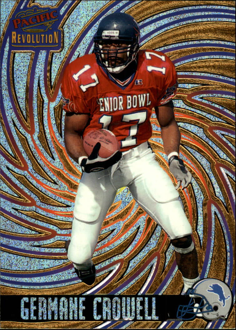 1998 Revolution #45 Germane Crowell RC