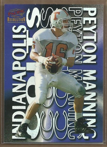 1998 Revolution Showstoppers #16 Peyton Manning