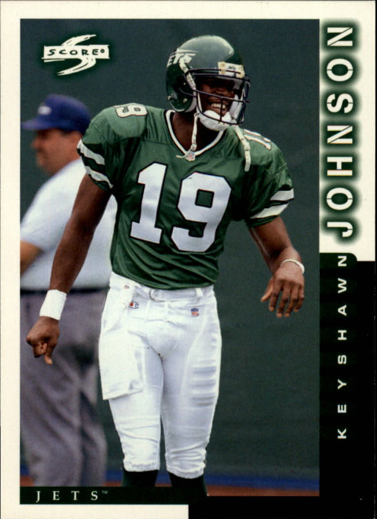 1998 Score #33 Keyshawn Johnson