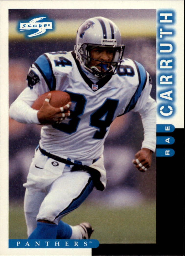 1998 Score #52 Rae Carruth