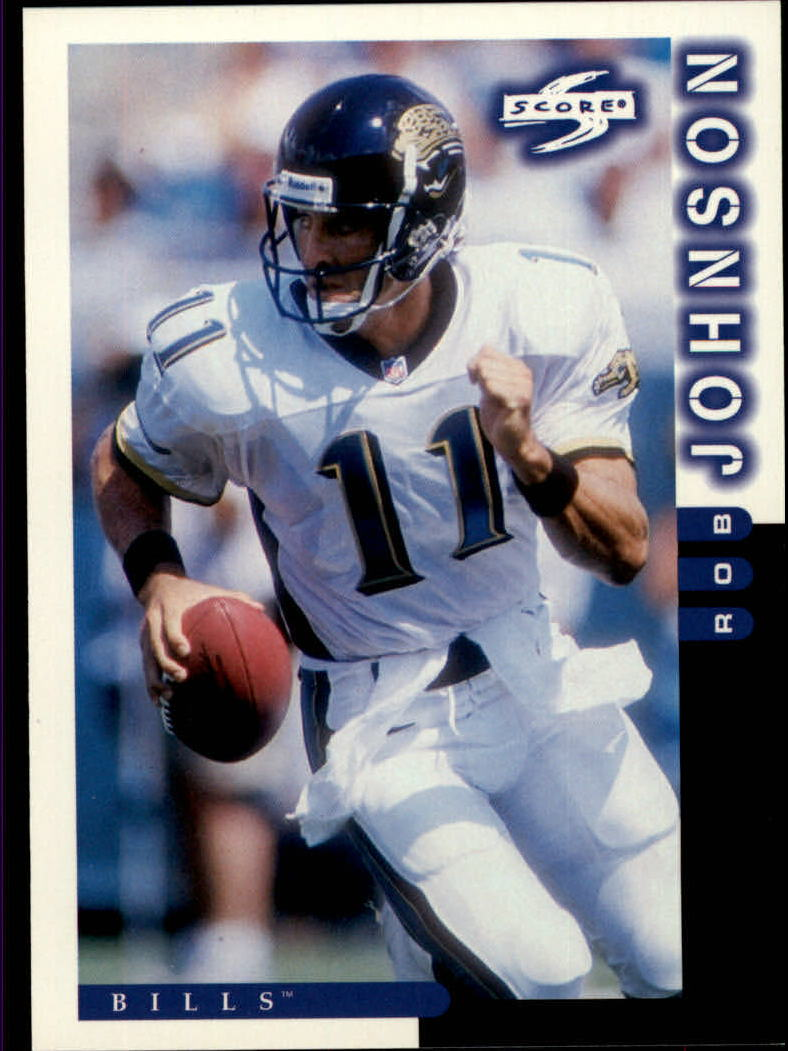 1998 Score #107 Rob Johnson
