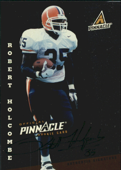 1998 Score Rookie Autographs #18 Robert Holcombe