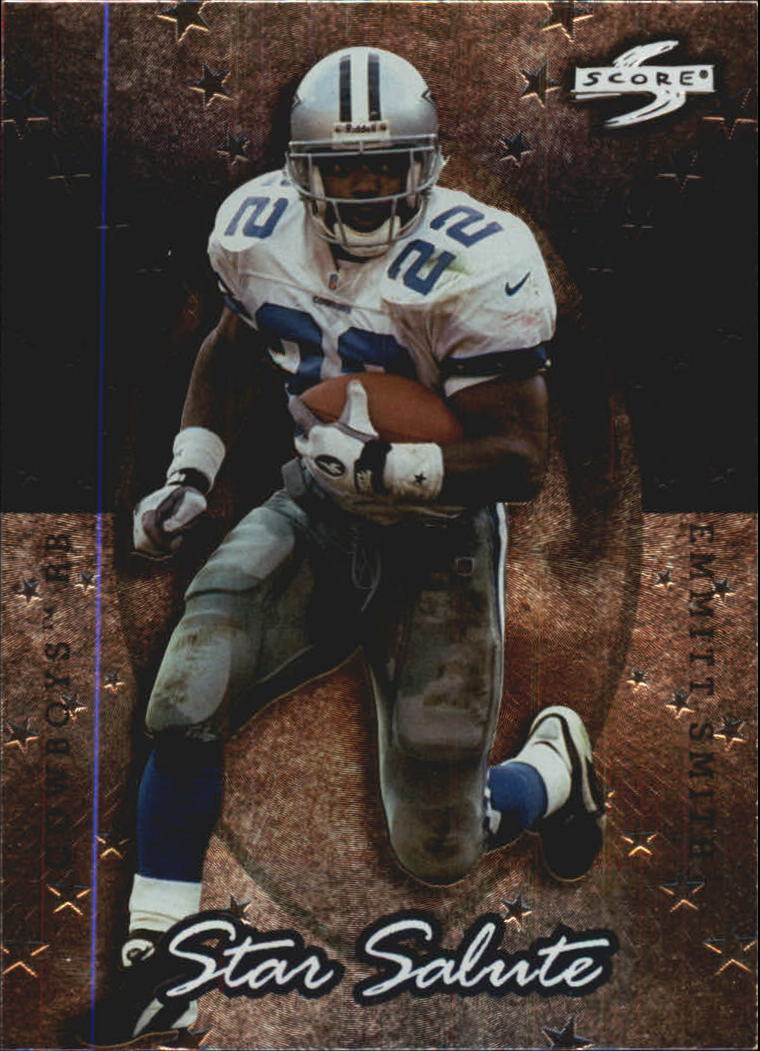 1998 Score Star Salute #6 Emmitt Smith