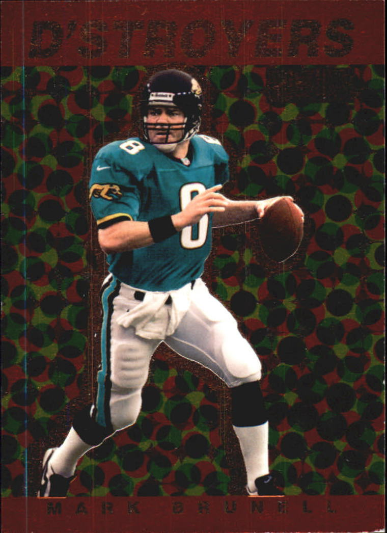 1998 SkyBox Premium D'stroyers #8D Mark Brunell