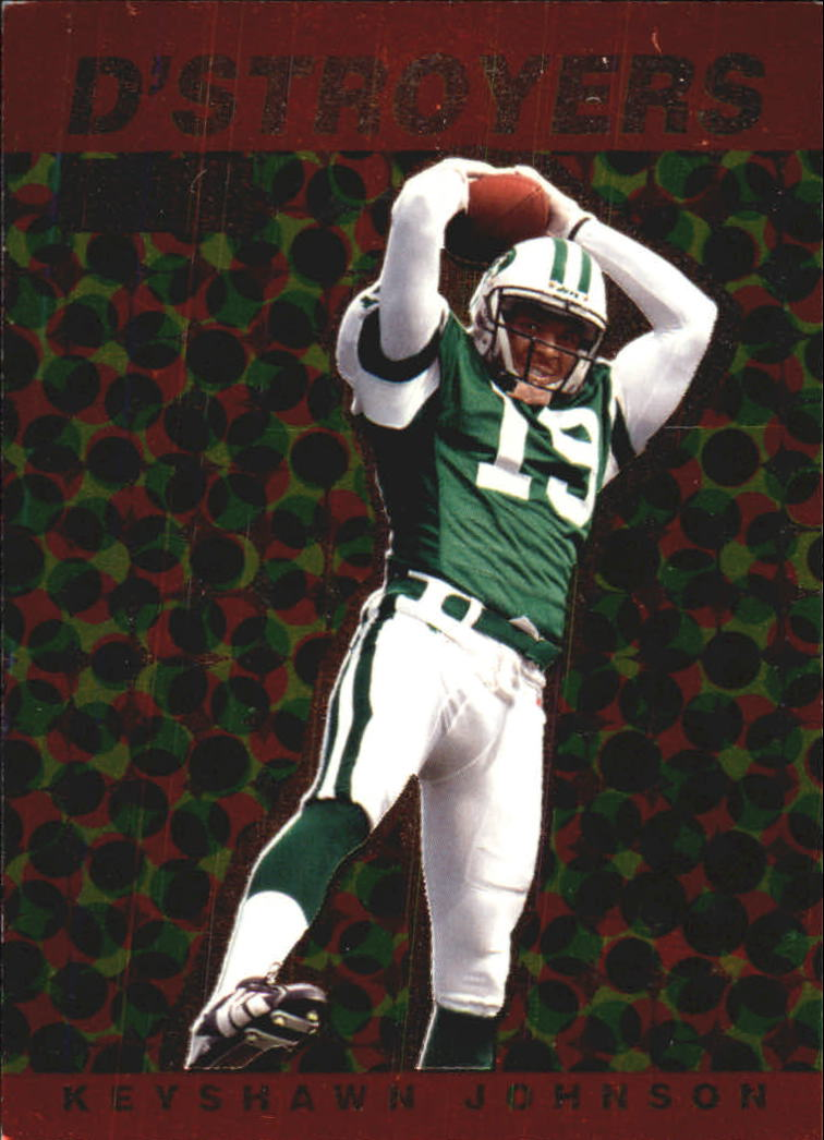 1998 SkyBox Premium D'stroyers #13D Keyshawn Johnson
