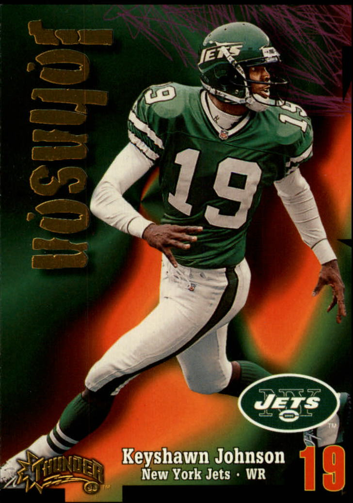 1998 SkyBox Thunder #218 Keyshawn Johnson