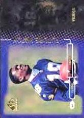 1998 SP Authentic #18 Randy Moss RC