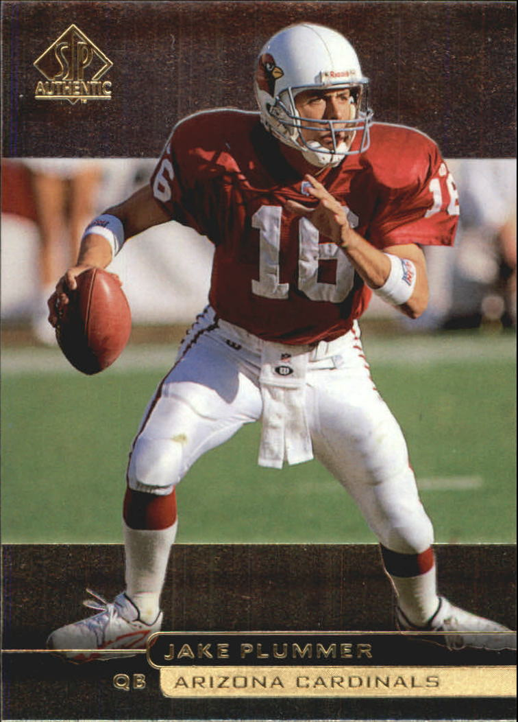 1998 SP Authentic #43 Jake Plummer