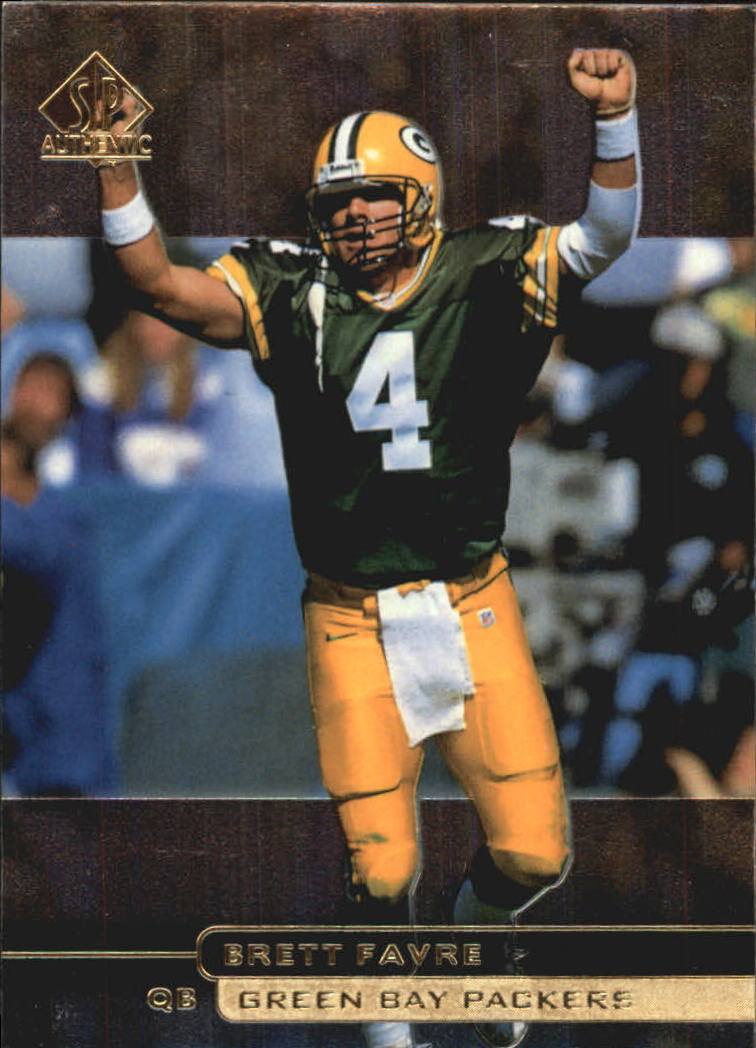 1998 SP Authentic #71 Brett Favre