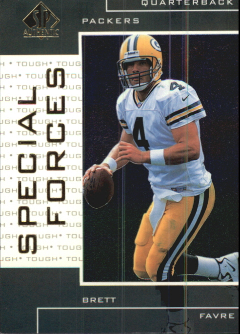 1998 SP Authentic Special Forces #S4 Brett Favre