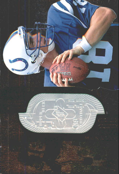 1998 SPx Finite #181 Peyton Manning/1998 RC