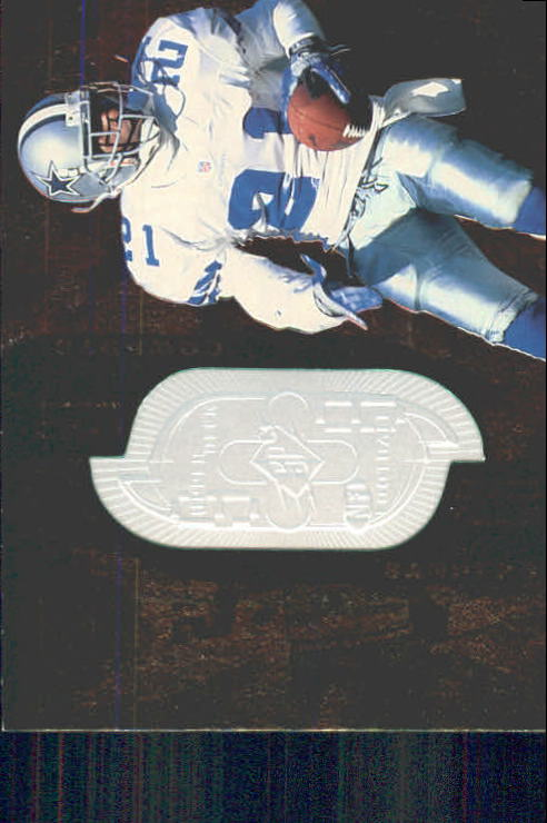 1998 SPx Finite #212 Deion Sanders