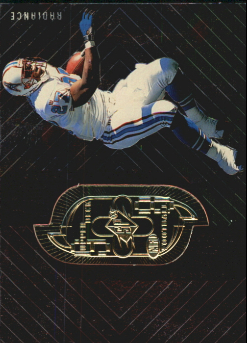 1998 SPx Finite #277 Eddie George