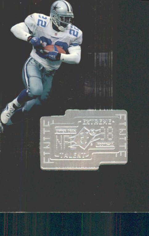 1998 SPx Finite #301 Emmitt Smith ET