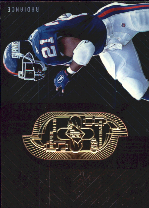 1998 SPx Finite Radiance #56 Tiki Barber