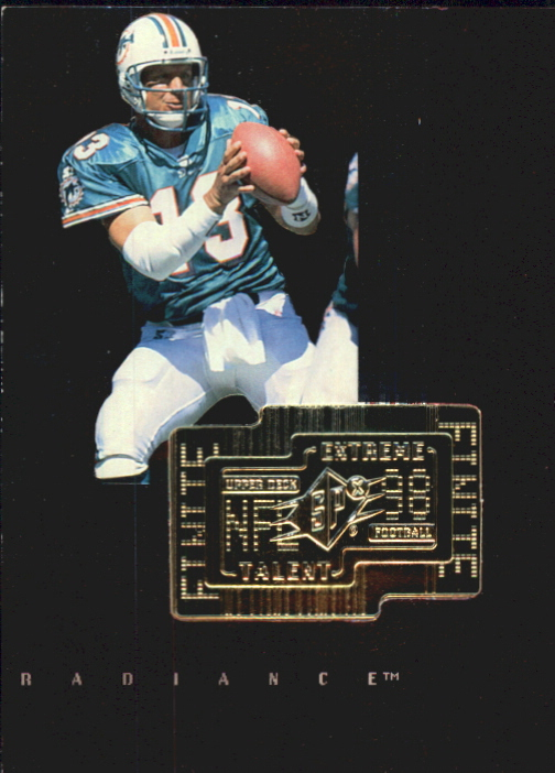 1998 SPx Finite Radiance #290 Dan Marino ET