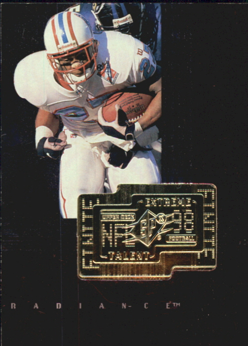 1998 SPx Finite Radiance #294 Eddie George ET