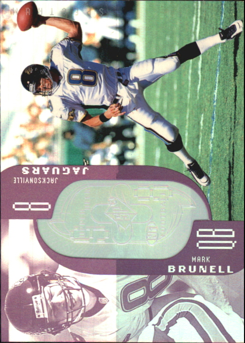 1998 SPx Finite Spectrum #38 Mark Brunell