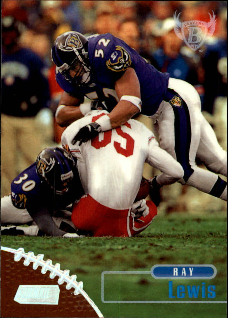 1998 Stadium Club #164 Ray Lewis
