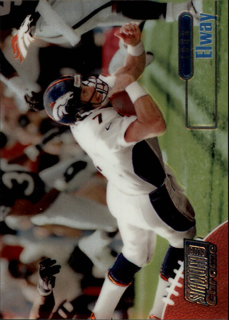 1998 Stadium Club Chrome #SCC1 John Elway